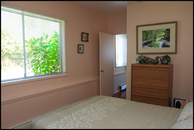 Sea Lion Suite self-contained vacation rental Comox BC