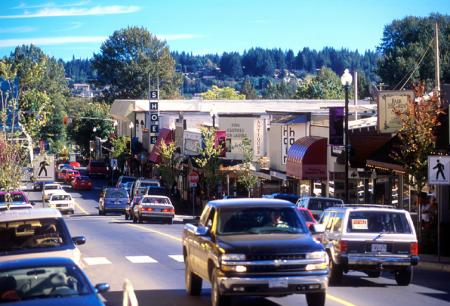 downtown Courtenay British Columbia