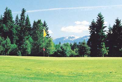 Vancouver Island golfing -Comox Valley golf clubs